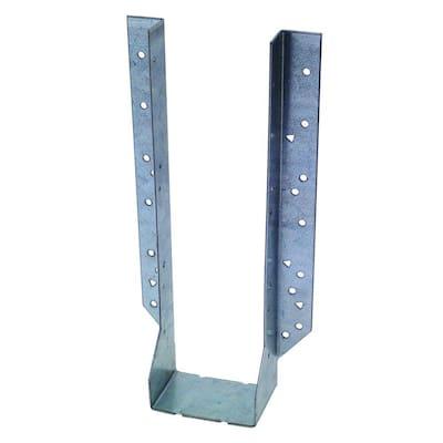 HU Galvanized Face-Mount Joist Hanger for 4x14 Nominal Lumber