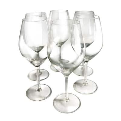 Illuminati Red Wine Glasses (Set of 6)