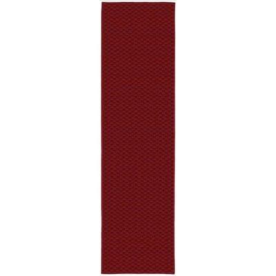 Medallion Chili Pepper Red 3 ft. x 12 ft. Runner Rug