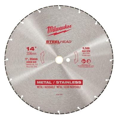 14 in. Steelhead Diamond Cut Off Blade