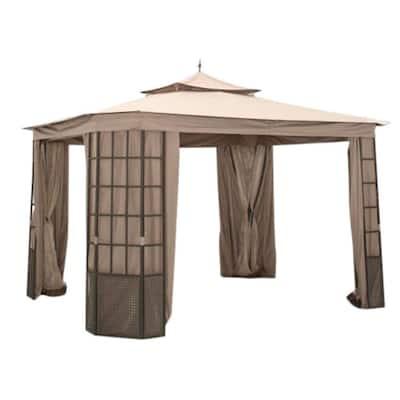 Riplock 350 Replacement Canopy Top in Beige for Verado 10 ft. x 12 ft. Gazebo