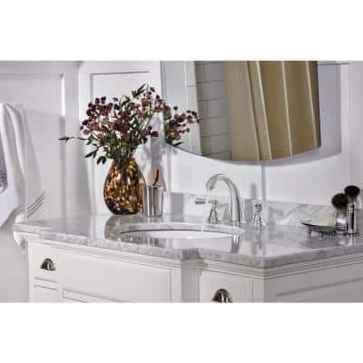 Elmhurst 8 in. Widespread 2-Handle Bathroom Faucet in Chrome