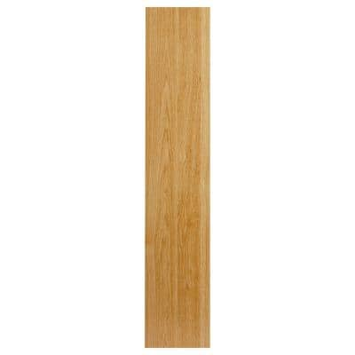 0.75x60x12 in. Universal End Panel in Natural Hickory
