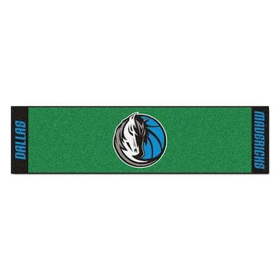 NBA Dallas Mavericks 1 ft. 6 in. x 6 ft. Indoor 1-Hole Golf Practice Putting Green