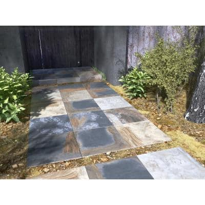 Mystique Multicolor 24 in. x 24 in. Matte Porcelain Paver Floor Tile (14 pieces / 56 sq. ft. / pallet)
