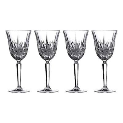 Maxwell 8 oz. White Wine Glass Set (Set of 4)