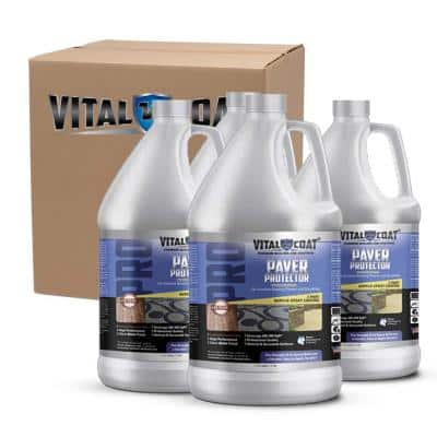 Paver Protector Pro 4 Gal. Water Base Acrylic Sealant in Clear (4-Pack)