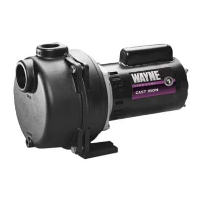1-1/2 HP Cast Iron Quick-Prime Lawn-Sprinkler Pump