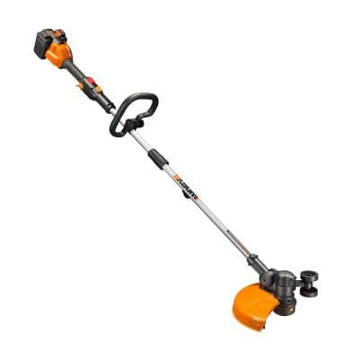 POWER SHARE 40-Volt 13 in. String Trimmer and Wheeled Edger (Battery and Charger Included)