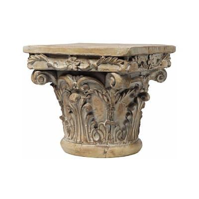 Aesthetic Resin Decorative Pedestal