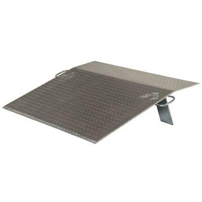3,500 lb. 48 in. x 36 in. x 0.38 in. Aluminum Economy Dockplate
