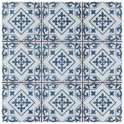 Harmonia Atlantic Cobalt Blue 13 in.x13 in. Ceramic Floor and Wall Tile (12.19 sq. ft. /Case)