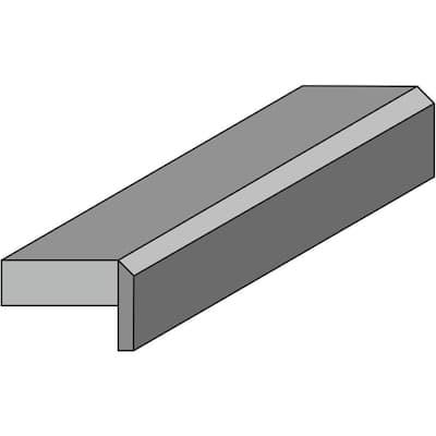 Designer White Laminate Custom Bevel Edge