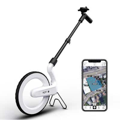Carta: Digital Mapping Wheel, Electronic Distance Measuring and Estimating, Feet, Inches, Yards, Meters