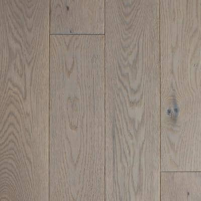 Castlebury Stonington Eurosawn White Oak 3/4 in. T x 4 in. W x Random Length Solid Hardwood Flooring (16 sq. ft./case)