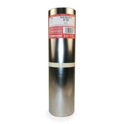 20 in. x 50 ft. Galvanized Steel Roll Valley Flashing