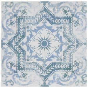 Klinker Alcazar Petunia Encaustic 12-3/4 in. x 12-3/4 in. Ceramic Floor and Wall Quarry Tile (1.13 sq. ft./Each)