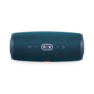 Blue JBL Charge 4 Portable Bluetooth Speaker