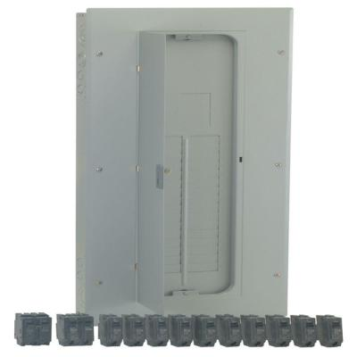 PowerMark Gold 200-Amp 32-Space 40-Circuit Indoor Main Lug Value Kit Includes Select Circuit Breaker