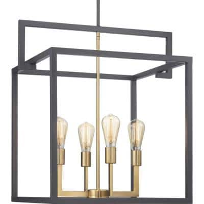 Blakely Collection 4-Light Graphite Pendant