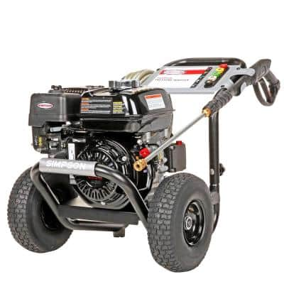 PowerShot 3300 PSI at 2.5 GPM HONDA GX200 with AAA Industrial Triplex Pump Cold Water Professional Gas Pressure Washer