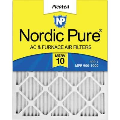 20 x 22 x 1 Dust and Pollen Pleated MERV 10 - FPR 7 Air Filter (12-Pack)