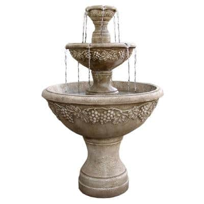 TruCast Napa Valley Tiered Fountain
