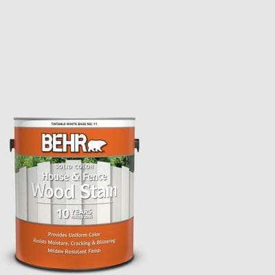 1 gal. #PR-W09 Nimbus Cloud Solid Color House and Fence Exterior Wood Stain