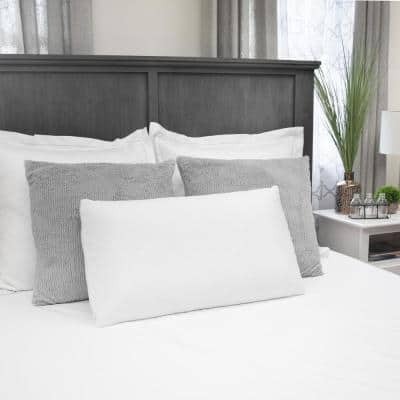 Natural Talalay Medium Latex Standard/Queen Bed Pillow