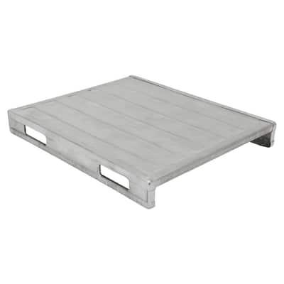40 in. x 47 in. Heavy Duty Solid Deck Steel Pallet
