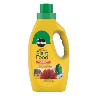Liquid All Purpose 32 oz. Plant Food Concentrate