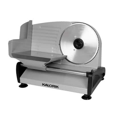 200 W Silver Professional Food Slicer