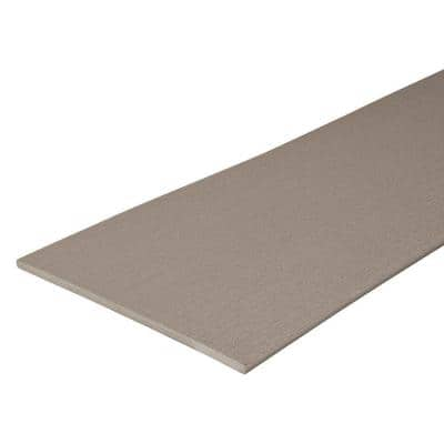Paramount 1/2 in. x 11-1/2 in. x 12 ft. Sand Capped Cellular PVC Fascia Decking Board