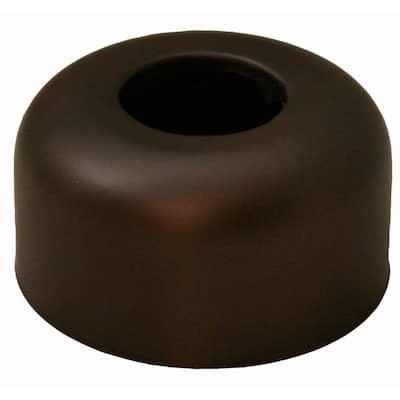 3 in. O.D. Box Pattern Escutcheon for 1-1/4 in. Tubular in Oil Rubbed Bronze