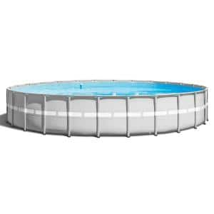 26 ft. x 52 in. Ultra Frame Above Ground Swimming Pool Set with Pump and Ladder