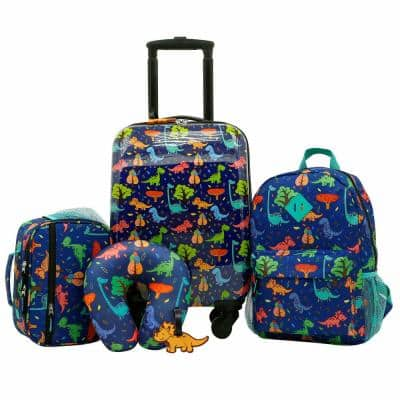 5-Piece Kid'S Luggage Set W/Spinner Wheels On Carry-On (Tcs-K1005)