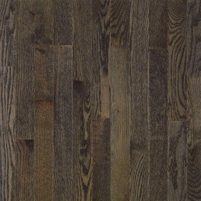 American Originals Coastal Gray Oak 5/16 in. T x 2-1/4 in. W x Varying L Solid Wood Flooring (40 sq. ft. /case)