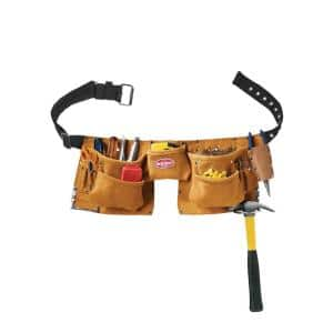 11 Pocket Suede Leather Carpenter Apron
