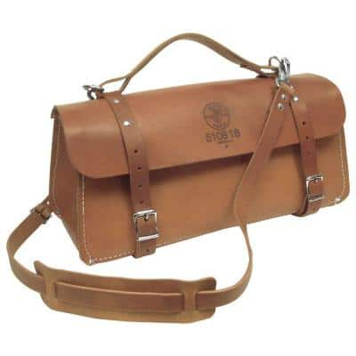 Deluxe Leather Bag, 18-Inch
