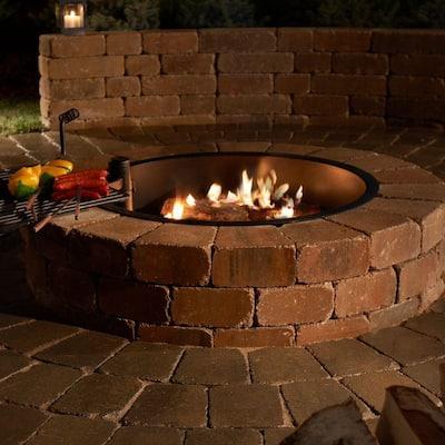Grand 48 in. Fire Pit Kit in Santa Fe