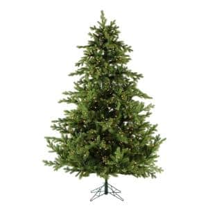 7.5 ft. Pre-lit Foxtail Pine Artificial Christmas Tree with 900 Clear Smart String Lights