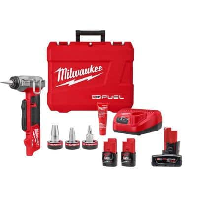 M12 FUEL RAPID SEAL ProPEX Expansion Tool Kit w/1/2 in. to 1 in. ProPEX Expander heads and M12 6.0Ah Battery