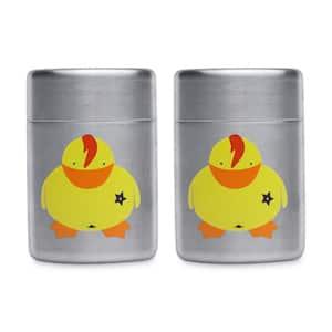 Children's Line Sheriff Duck Salt and Pepper Shakers