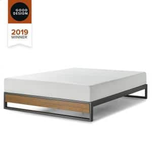 GOOD DESIGN Winner Suzanne Brown Full 10 in. Metal and Wood Platforma Bed Frame