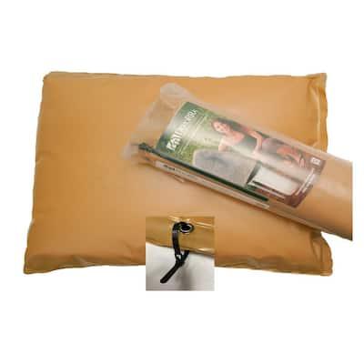 34 in. L x 24 in. H Medium Fiberglass Encapsulated Tan Plastic Insulation Pouch