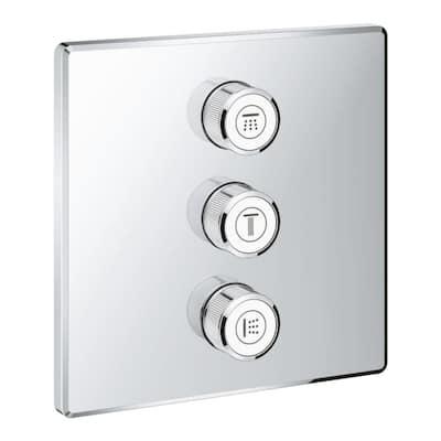 3-Diverter Square Smart Control