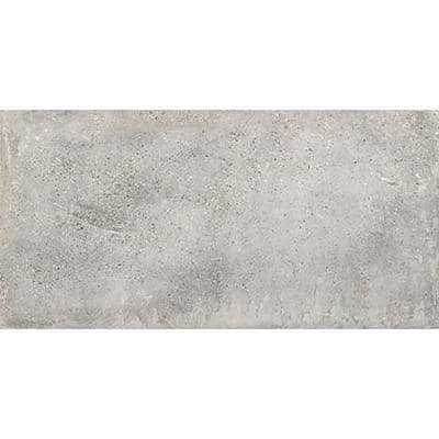 Euro Lone Cemento Gray 12 in. x 24 in. Porcelain Floor and Wall Tile (14.42 sq. ft. / case)