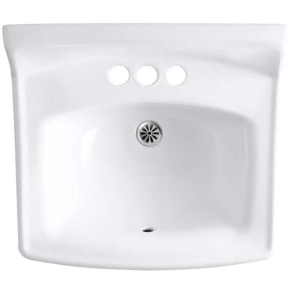 https www homedepot com p kohler greenwich wall mounted vitreous china bathroom sink in white with overflow drain k 2032 0 100080811