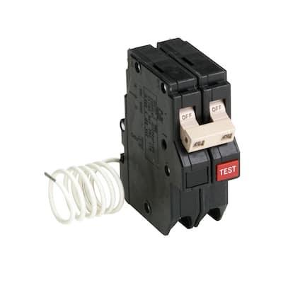 CH 20 Amp 2-Pole Self Test Ground Fault Circuit Breaker