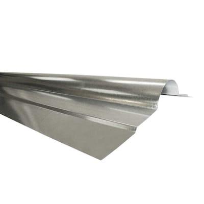 11-7/8 in. x 10 ft. Galvanized-Steel Roll Type Ridge Cap